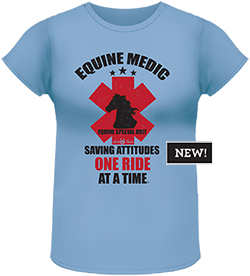 Lucky Bucky Clothing – Equine Medic - Tee For Women